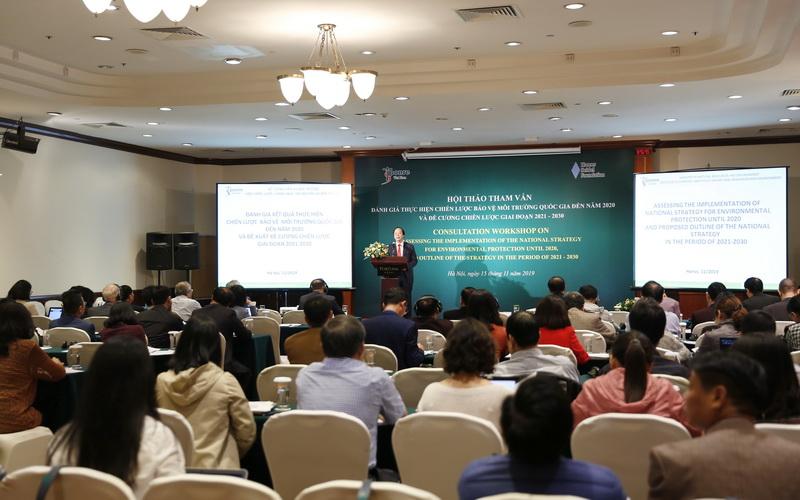 Tham vấn Đề cương Chiến lược bảo vệ môi trường quốc gia giai đoạn 2021-2030
