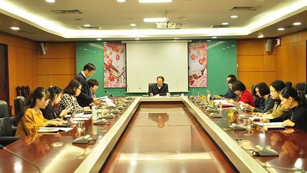 Triển khai công tác chuẩn bị tổ chức các hoạt động trong khuôn khổ năm ASEAN 2020 tại Việt Nam
