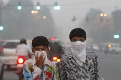 Ô nhiễm không khí ở Ấn Độ cao hơn 50 lần mức độ cho phép