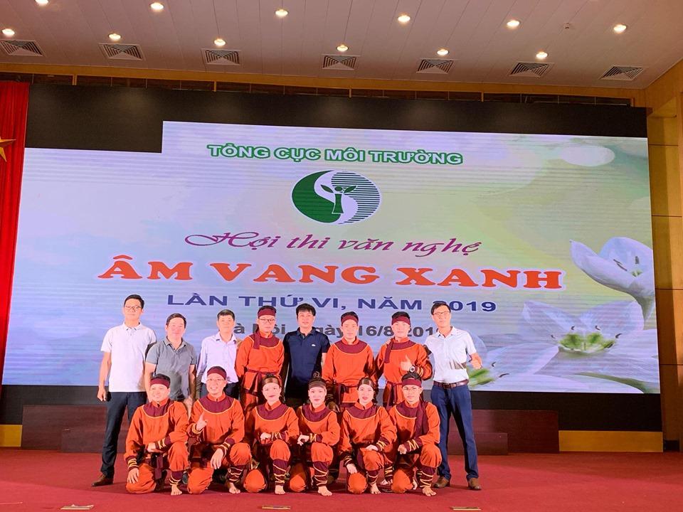 """Trung tâm Tư vấn và Công nghệ môi trường tham dự cuộc thi """"Âm vang Xanh 2019"""" do Tổng cục Môi trường tổ chức"""