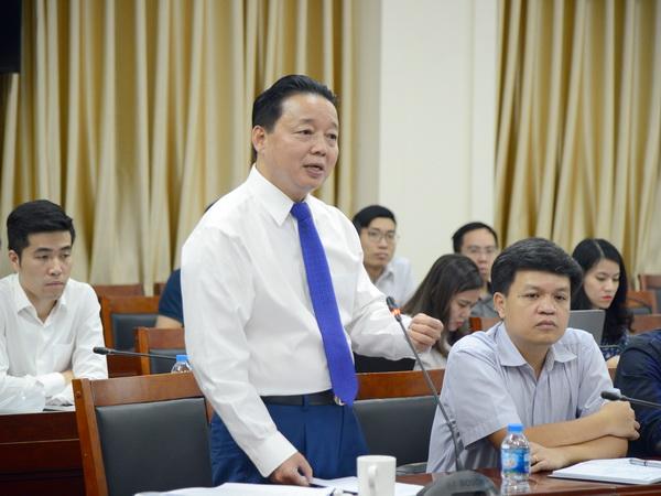 Bộ trưởng Trần Hồng Hà: Trung ương xác định đưa nước ta trở thành quốc gia mạnh về biển, giàu lên từ biển, dựa vào biển và hướng ra biển
