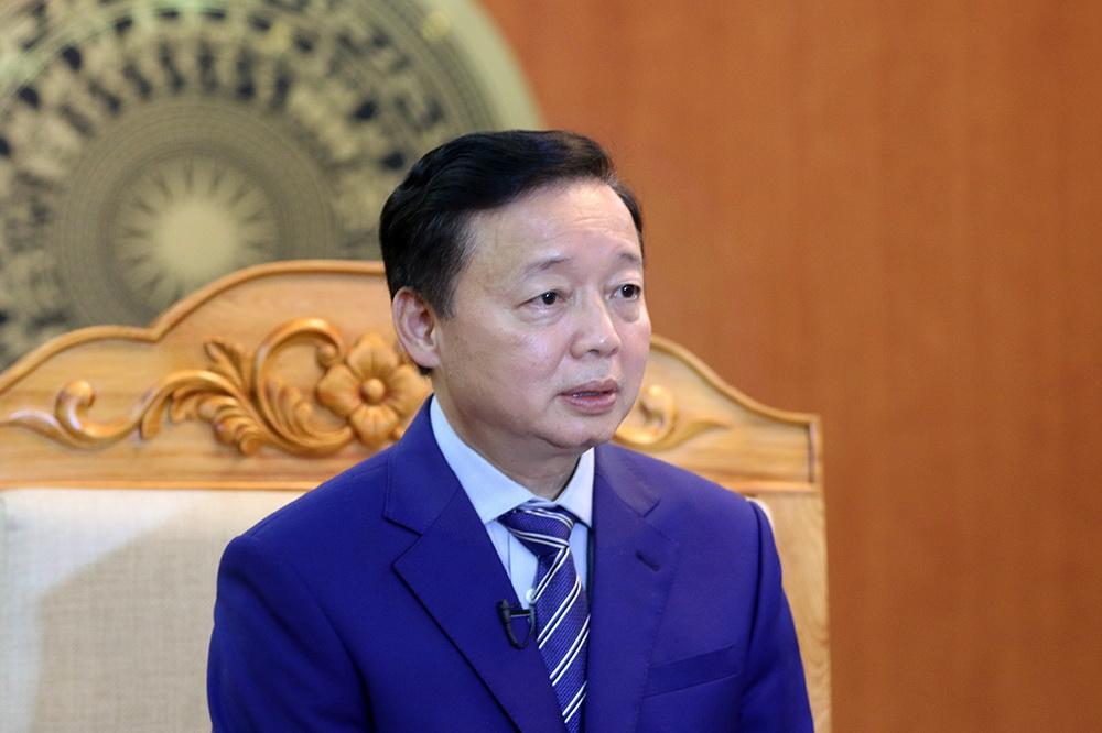 Bộ trưởng Trần Hồng Hà: Chung ý chí kiến tạo Trái đất xanh