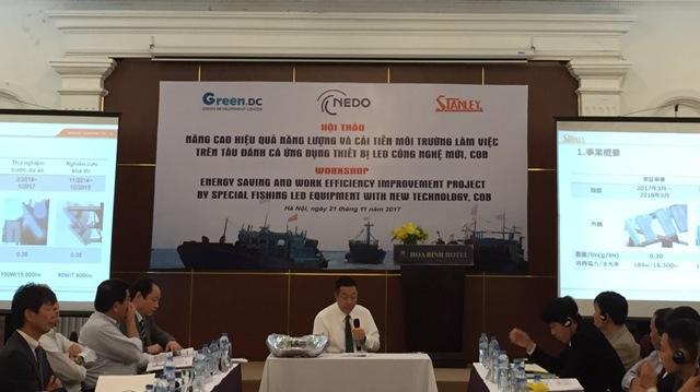 Nâng cao hiệu quả năng lượng và cải tiến môi trường làm việc trên tàu đánh cá ứng dụng thiết bị LED công nghệ mới