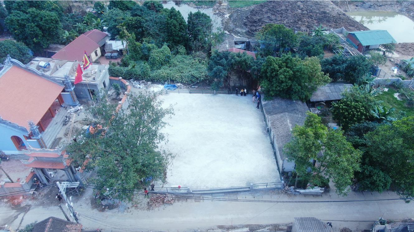 Tiến hành nghiệm thu công trình thí điểm thuộc công trình khắc phục ô nhiễm và cải thiện môi trường tại làng nghề tái chế chì thôn Đông Mai