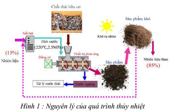 Xử lý rác thải sinh học bằng công nghệ thủy nhiệt
