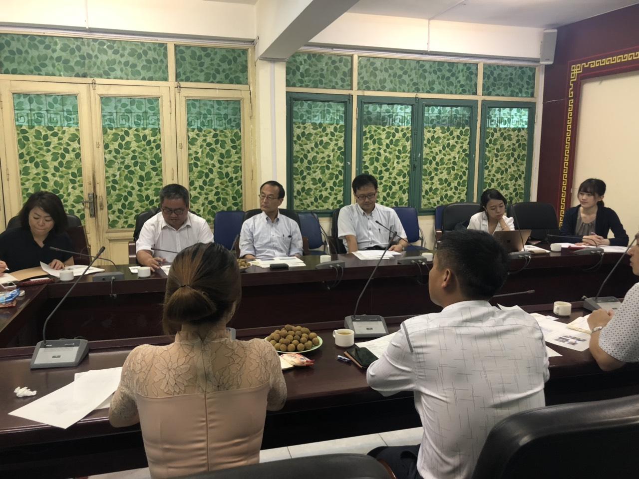 Trung tâm Tư vấn và Công nghệ Môi trường phối hợp với Tổ chức JICA Việt Nam và Trung tâm Hợp tác Môi trường Quốc tế Nhật Bản (OECC) tiến hành khảo sát thí điểm tại Quảng Nam, Đà Nẵng