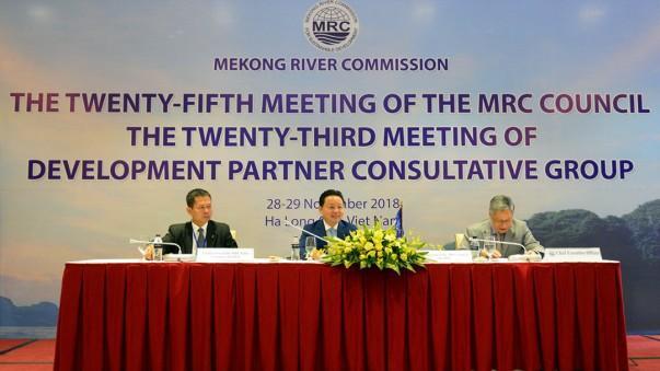 Khai mạc phiên họp Hội đồng Ủy hội sông Mê Công quốc tế lần thứ 25
